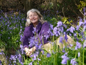 Moira, bluebells, about page